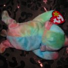 Ty Sammy The Bear With Tag Retired Beanie Baby