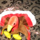 Ty Gobbles The Turkey With Tag Retired Beanie Baby