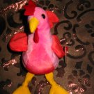 Ty Strut The Rooster With Tag Retired Beanie Baby