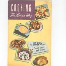 Cooking The Modern Way Cookbook Vintage by Planters Edible Oil 1948