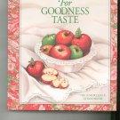 For Goodness Taste Cookbook Junior League Rochester New York 0960