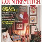 Country Stitch Premier Collector's Issue Craft Magazine