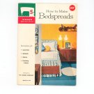How To Make Bedspreads Singer Sewing Library Number 104 Vintage 1960