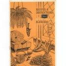 Sears Blenders Cookbook and Manual Vintage Kenmore Model 400 500 600