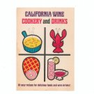 California Wine Cookery and Drinks Cookbook Vintage 1967
