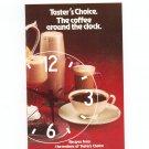 Taster's Choice The Coffee Around The Clock Cookbook