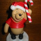 Disney Pooh & Friends Pooh With Candy Cane Figurine With Box and Certificate 11F 300750