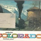 Colorful Colorado Invites You! Advertising Brochure With Map Plus Vintage?? Never Opened