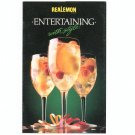Entertaining With Style Cookbook by Realemon 1987