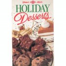 Holiday Desserts Cookbook Baker's Diamond Jell-O  1992