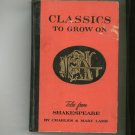 Vintage Tales From Shakespeare by Charles & Mary Lamb Classics To Grow On