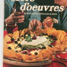 Hors d'oeuvres Cookbook by Sunset 0376024410 Vintage 1976