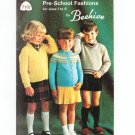 Patons Pre School Fashions by Beehive Number 7110