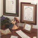Prayers and Proverbs Country Craft 117 Pam Waters Icard Stitch