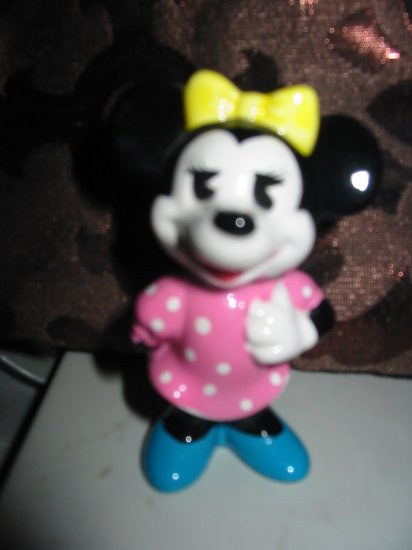 Disney Minnie Mouse Figurine Marked So Cute