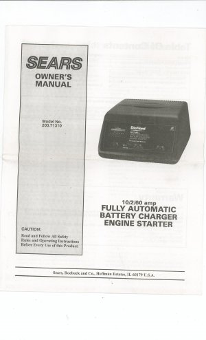 sears battery charger manual model 200 71310 not pdf sears 10/2 manual battery charger sears 10/2 amp manual battery charger