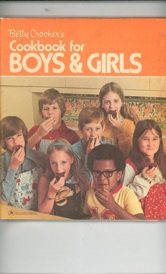 Betty Crocker's Cookbook For Boys & Girls Vintage