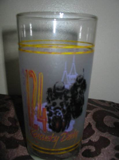 Kentucky Derby 124 Souvenir Glass 1998 Churchill Downs