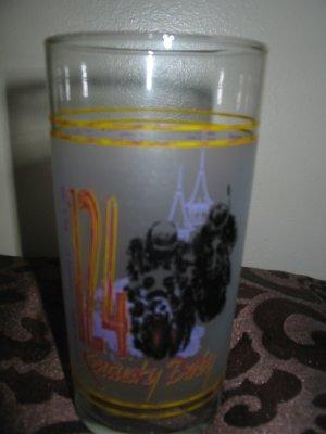 Kentucky Derby 124 Souvenir Glass 1998 Churchill Downs