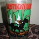 Kentucky Derby 115 Souvenir Glass 1989 Churchill Downs
