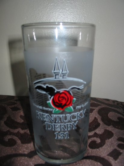 Kentucky Derby 131 Souvenir Glass 2005 Churchill Downs