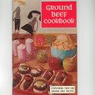 Ground Beef Cookbook Vintage