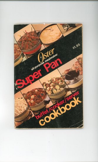 Oster Super Pan Cookbook and Manual