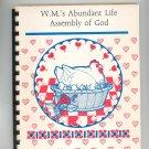 Favorite Recipes Cookbook Regional Church Bradford PA. Assembly God