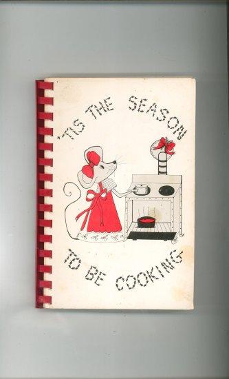 Tis The Season To Be Cooking Cookbook Regional Georgia Vintage