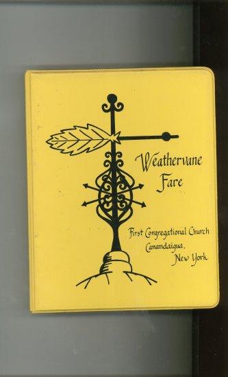 Weathervane Fare Cookbook Regional Church New York