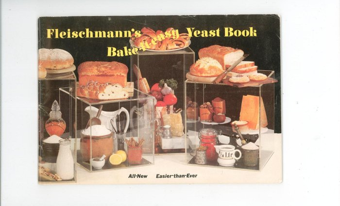 Fleischmanns Bake It Easy Yeast Book Cookbook Fleischmann's