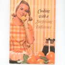 Cooking With A Surprising Difference Cookbook Carnation Velvetized Milk