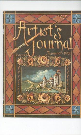 Artist's Journal Summer 1991 Issue Number 5