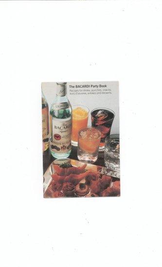 The Bacardi Party Book  Recipe Book / Cookbook
