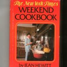 The New York Times Weekend Cookbook by Jean Hewitt 0812905687