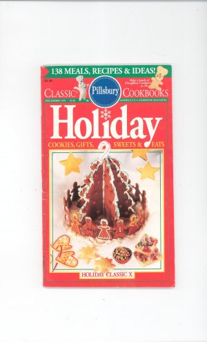 Pillsbury Classic Cookbook Holiday December 1991 130