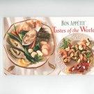 Bon Appetit Tastes Of The World Cookbook