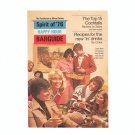 Spirit Of '76 Happy Hour Barguide by Southern Comfort Vintage 1975