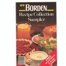 New Borden Recipe Collection Sampler Cookbook / Pamphlet  1987