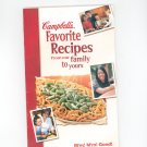 Campbells Favorite Recipes Cookbook Over $7 in Coupons Included