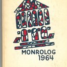 Monrolog 1964 Year Book Yearbook Monroe High School New York