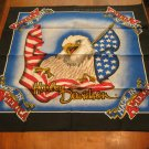 Harley Davidson Made In America  RN15187 Bandana Very Nice Official Licensed Product