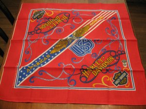 Harley Davidson American Legend RN16463 Bandana Very Nice Official Licensed Product