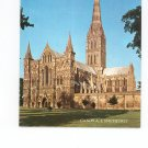 Salisbury Cathedral Souvenir Book Plus Post Cards Vintage 1974