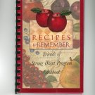 Recipes To Remember Cookbook Regional Strong Heart