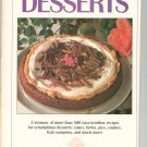 Creative Cooking Desserts Cookbook 1992