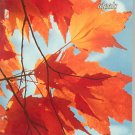 Vintage Autumn Leaves Ideals Volume 30 Number 5 1973
