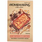 Vintage Homemaking With A Flair Cookbook Plus Winter 1973