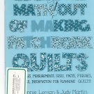 Taking The Math Out Of Making Patchwork Quilts 0960297030 Bonnie Leman Judy Martin
