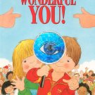 Wonderful You by Linda & Alan Parry Childrens Book 0840777205 Pop Up Style